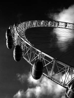 Photograph - London Eye by Rachel Mirror