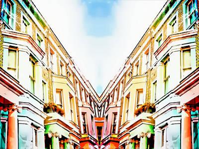 Upscale Photograph - London Houses by Tom Gowanlock