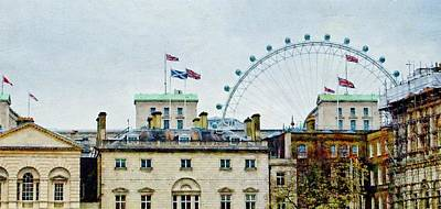 Photograph - London Old And New by JAMART Photography