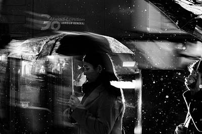 London Rain IIi Art Print by Wayne La