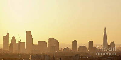 City Of London Photograph - London Skyline by David Bleeker