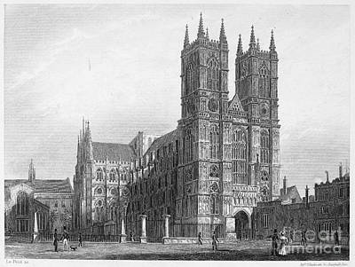 Westminster Abbey Photograph - London: Westminster Abbey by Granger