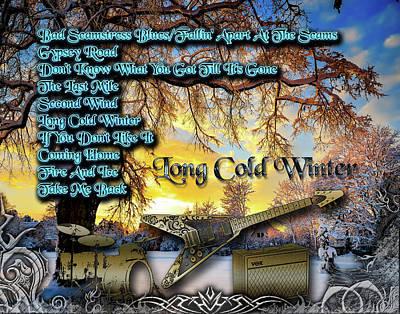 Digital Art - Long Cold Winter by Michael Damiani