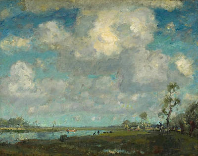 Painting - Long Point Marsh by Henry Ward Ranger