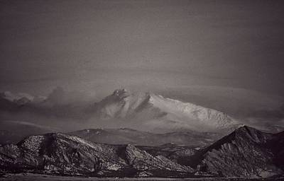 Photograph - Longs Peak by Richard Keer