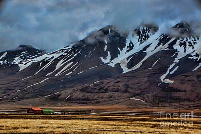 Photograph - Longyearbyen by Shirley Mangini