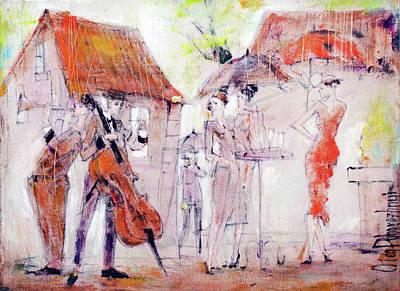 Painting - Look by Oleg Poberezhnyi