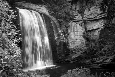 Photograph - Looking Glass Falls by Howard Salmon