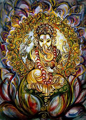 Lord Ganesha Original by Harsh Malik