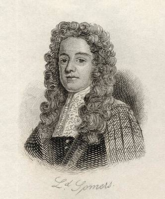 Somer Drawing - Lord John Somers, Baron Somers Of by Vintage Design Pics