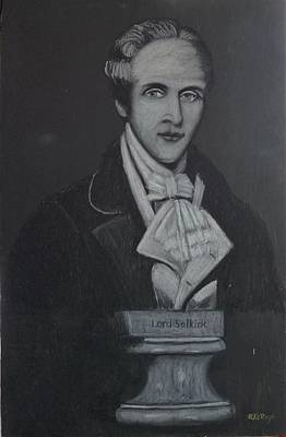 Pastel - Lord Selkirk by Richard Le Page