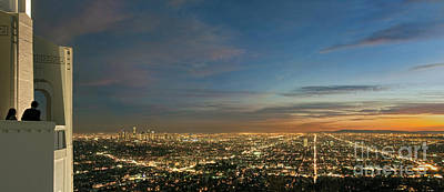 Photograph - Los Angeles City Of Angels by David Zanzinger