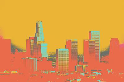 Los Angeles Art Print by Shay Culligan