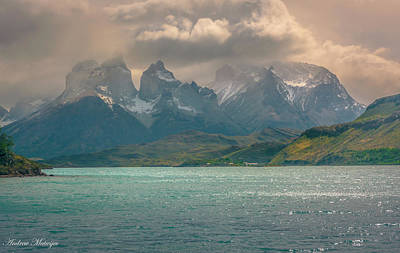 Art Print featuring the photograph Los Cuernos  by Andrew Matwijec