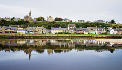 River Scenes Photograph - Lossiemouth by Tom Gowanlock