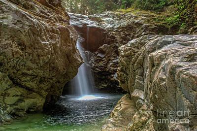 Photograph - Lost Creek by Rod Wiens