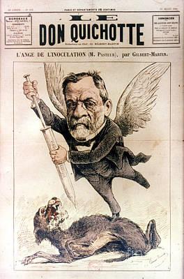 Photograph - Louis Pasteur (1822-1895) by Granger
