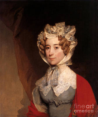 First Lady Photograph - Louisa Adams, First Lady by Science Source