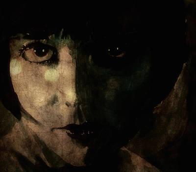 Model Digital Art - Louise Brooks by Paul Lovering