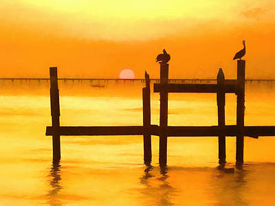 Photograph - Louisiana Evening by Kathy Bassett