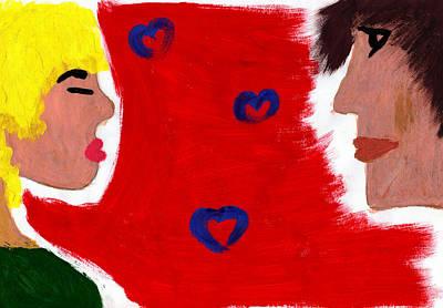 Love Art Print by Celebrity Popart