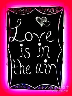 Digital Art - Love Is In The Air by Ed Weidman