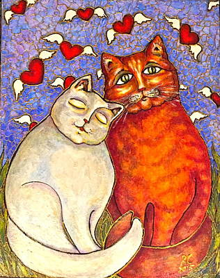 Painting - Love Is In The Air by Rae Chichilnitsky