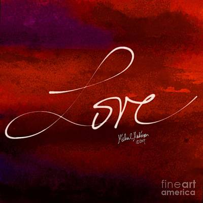 Painting - Love by Michal Madison