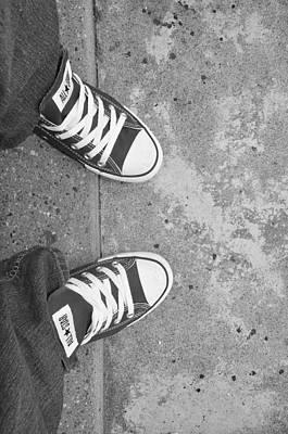 Photograph - Love My Converse by Brynn Ditsche