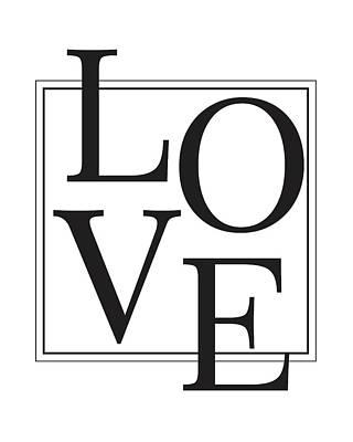 Mixed Media - Love by Studio Grafiikka