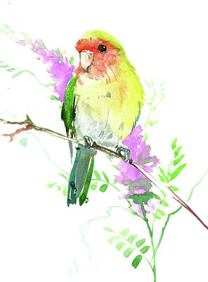 Painting - Lovebird by Suren Nersisyan