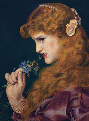 Painting - Love's Shadow by Frederick Sandys