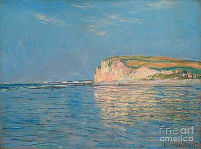 Painting - Low Tide At Pourville by Celestial Images