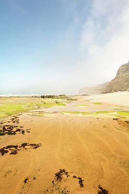 Photograph - Fog On The Beach by Edgar Laureano