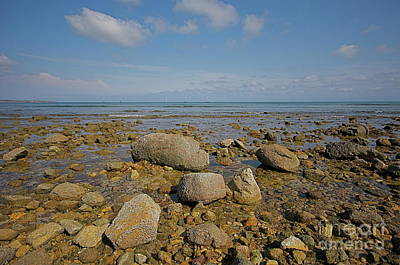 Art Print featuring the photograph Low Tide by Nicola Fiscarelli