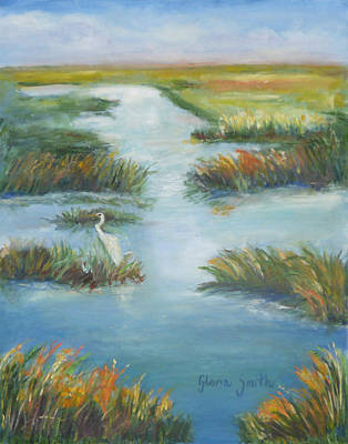 Lowcountry Marsh Art Print