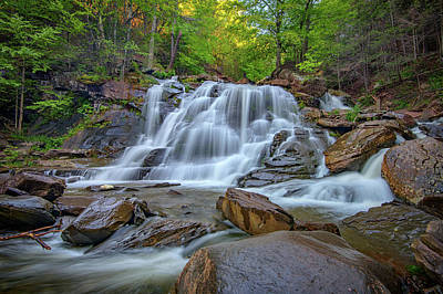 Lower Kaaterskill Falls Art Print by Rick Berk