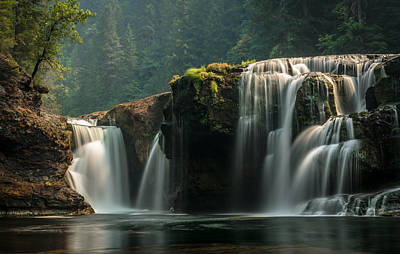 Photograph - Lower Lewis Falls by Blanca Braun