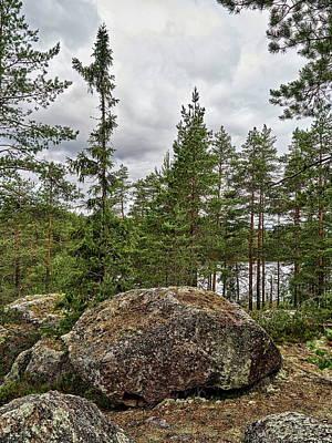 Photograph - Lower Ritajarvi by Jouko Lehto