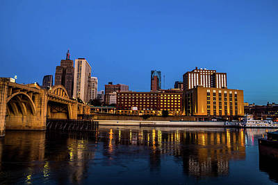 Lowertown Photograph - Lowertown Skyline by Nick Peters