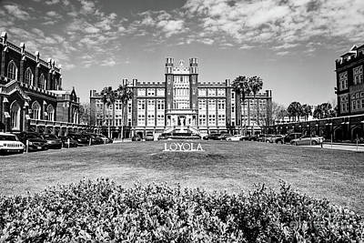 Loyola University Art Print by Scott Pellegrin