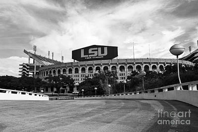 Tiger Stadium Photograph - Lsu Tiger Stadium by Scott Pellegrin