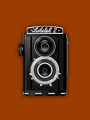 Camera Art Mixed Media - Lubitel 2 Vintage Camera Collection by Marvin Blaine