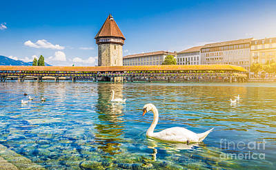 Photograph - Lucerne by JR Photography