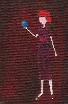 Lucy Art Print by Ricky Sencion