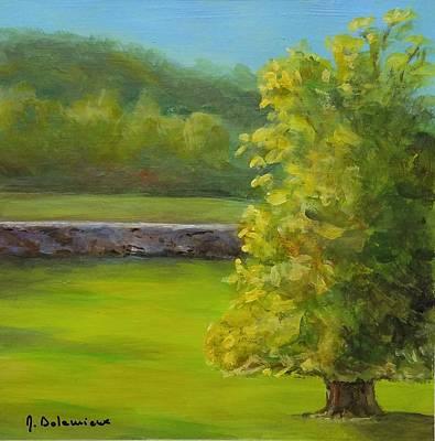 Painting - Lumiere Du Soir by Muriel Dolemieux