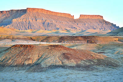 Photograph - Luna Mesa Sunrise by Ray Mathis