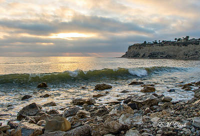 Lunada Bay Art Print by Ed Clark