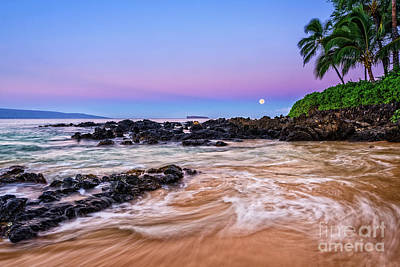 Sandy Cove Photograph - Lunar Paradise by Jamie Pham