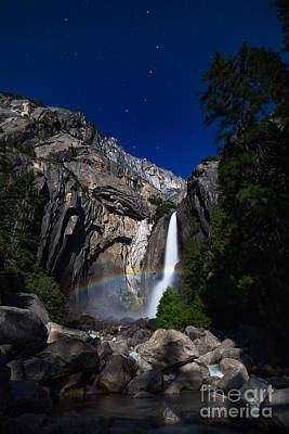Photograph - Lunar Rainbow by Anthony Bonafede